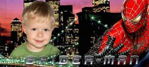 Макет для детской кружки - Спайдер Мэн