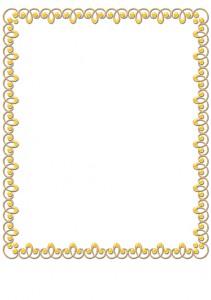 Окантовка для фото при печати на подушке № 04