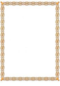 Контур вокруг изображения для печати на подушке № 05