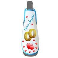 Фартук на бутылку из ткани