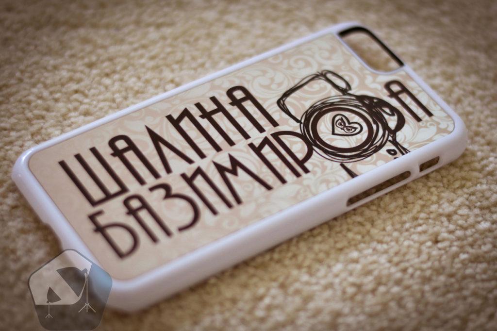 Печать на чехле для iPhone 6
