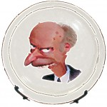 Фото на тарелке