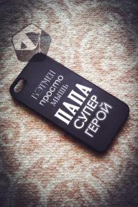 Печать любого изображения на чехле для iPhone SE